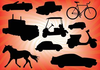 Transportation Vectors - Free vector #158351