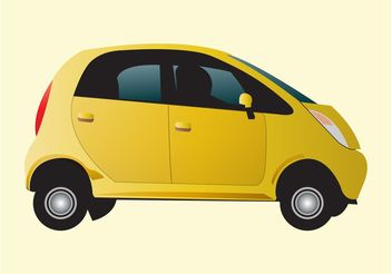 City Car Vector - vector gratuit #158391