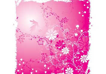 Flower Layout - vector gratuit #158831