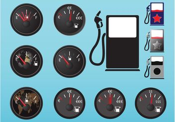 Fuel Icons - vector #158931 gratis