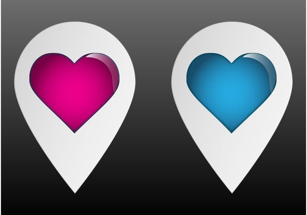 Heart Pointers - Free vector #158941