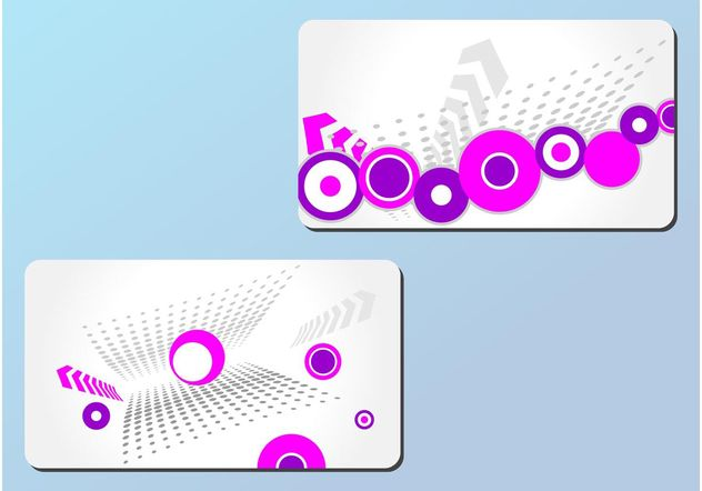 Cool Gift Cards - Free vector #158991