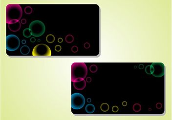 Bubbles Designs - Free vector #159001