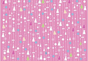 Christmas Vector Pattern - Free vector #159031