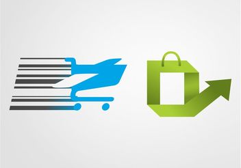 Shopping Icons Graphics - бесплатный vector #159051
