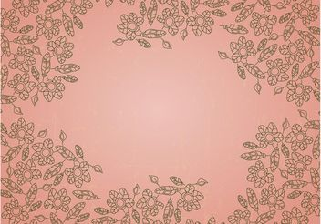 Outline Flowers - vector gratuit #159271