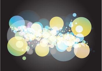 Bubbles Illustration - vector gratuit #159281