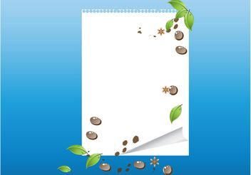 Vector Nature Layout - Kostenloses vector #159361