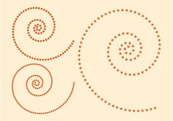 Swirling Layouts - Free vector #159381