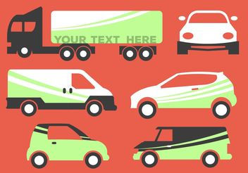 Vehicle Branding Vectors - vector gratuit #159421