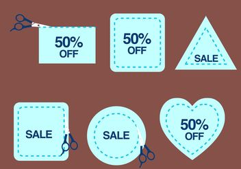 Discounts For All Vectors - Free vector #159441