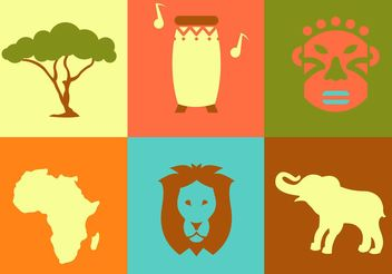 Africa Vector Icons - Kostenloses vector #159711