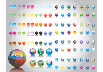 Marbles - Free vector #159781
