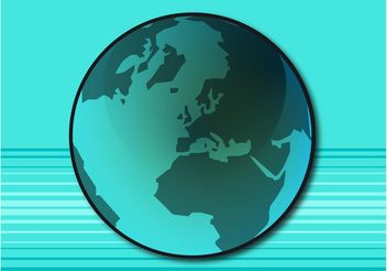 Blue Planet Vector - vector gratuit #159811