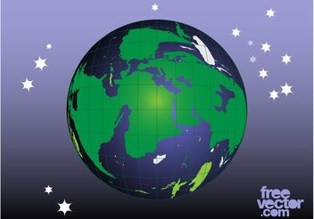 Planet Vector Graphics - Kostenloses vector #159851