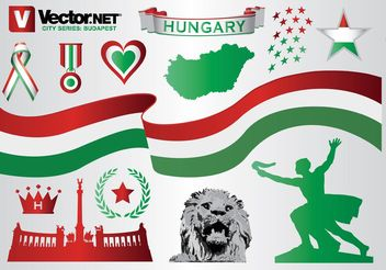 Budapest Hungary Graphics - Kostenloses vector #159911