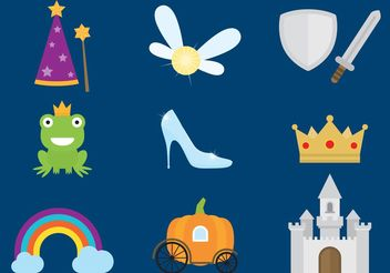 Once Upon A Time Cinderella Vectors - Free vector #160611