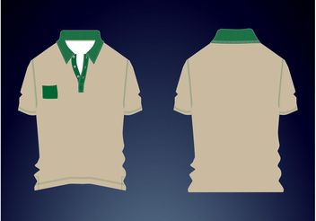 Polo Shirt - Free vector #160701
