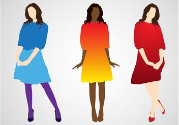 Fashion Illustrations - vector gratuit #160781