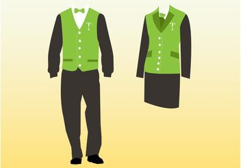 Uniforms - Free vector #160821