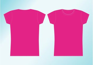 Girl Shirt - Free vector #160841