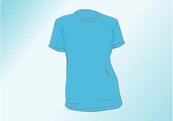Ladies T-Shirt - Kostenloses vector #160861