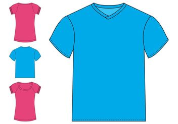 Basic T-Shirts Graphics - Free vector #160881