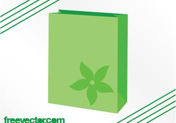 Eco Bag Vector - Free vector #160921