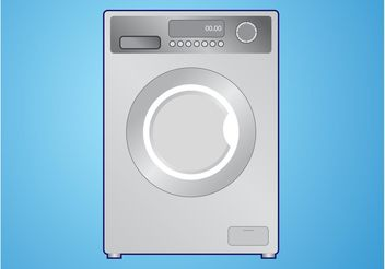 Washing Machine Vector - vector gratuit #160971
