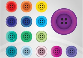 Sewing Buttons - vector gratuit #161151