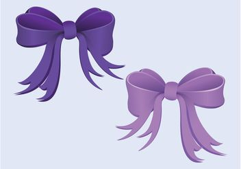 Pretty Ribbons - vector gratuit #161191