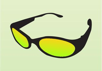 Sunglasses Vector - бесплатный vector #161221