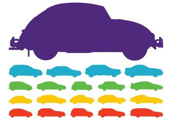 Car Silhouettes - Free vector #161361