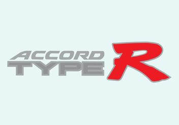Honda Accord Type R - vector #161541 gratis