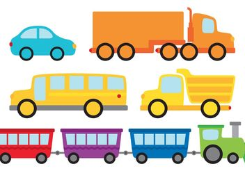 Vehicles Vector Pack - Kostenloses vector #161961