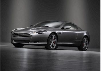 Cool Aston Martin - vector gratuit #162001