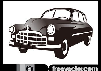 Antique Car - Free vector #162161