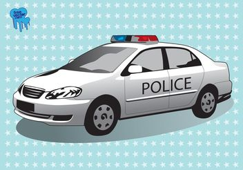 Police Car - vector #162251 gratis