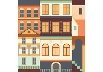 Buildings Vector - Free vector #162261