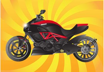 Ducati Bike - vector gratuit #162301