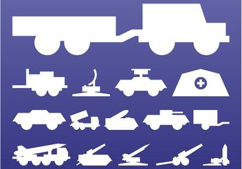 Military Graphics Set - vector gratuit #162351
