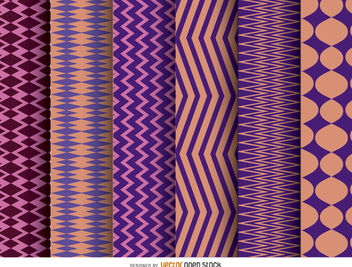 Zig Zag wallpaper backgrounds - Free vector #162811