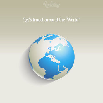 Travel Concept Business Background - vector gratuit #163341