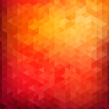 Vibrant Colorful Polygonal Triangles Texture - vector gratuit #163411