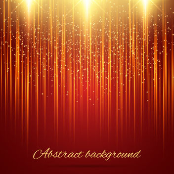 Shiny Gold Glitters Abstract Background - vector #163421 gratis