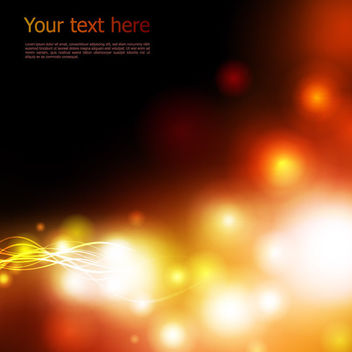 Bright Blurry Lights with Energy Lines Background - vector #165101 gratis