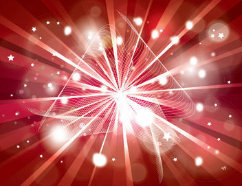 Starburst Background with Sparkles & Spiral Lines - Free vector #165161