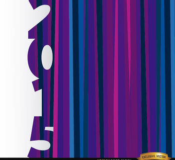 2015 vertical purple blue bars background - Free vector #165171