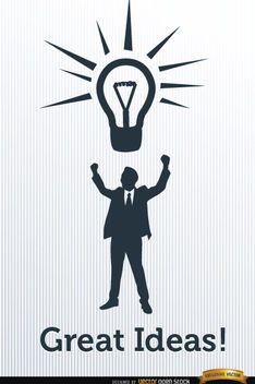 Business ideas for success - Free vector #165511