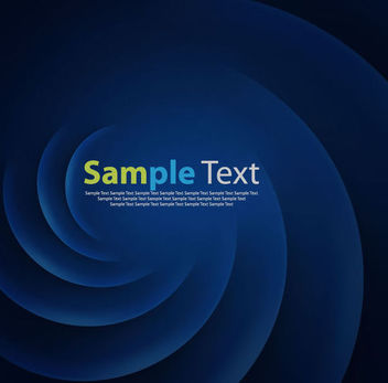 Abstract Blue Twisting Sticker Background - Free vector #165661